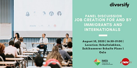 Panel Discussion: Job Creation for and by Immigrants & Internationals tickets