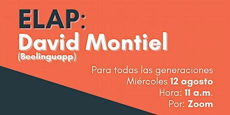 ELAP: David Montiel entradas