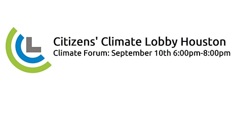 Citizens' Climate Lobby Forum on Climate Change entradas