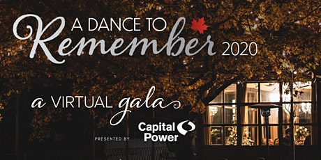 A Dance to Remember Virtual Gala 2020, Presented by Capital Power tickets