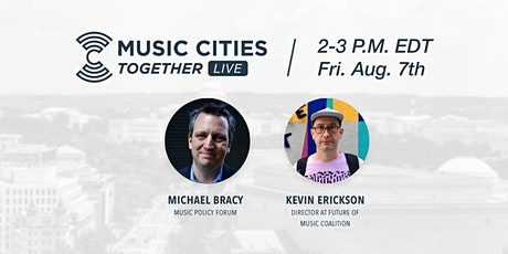 Music Cities Together: Live tickets