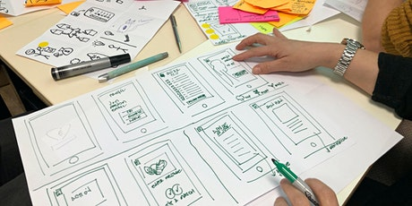 Using AR for UX portfolio : Design Studio Workshop tickets