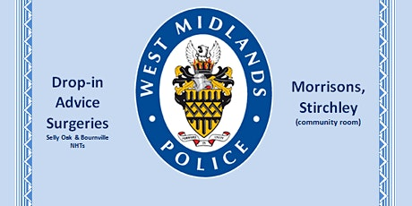 West Midlands Police Drop-In Surgery tickets
