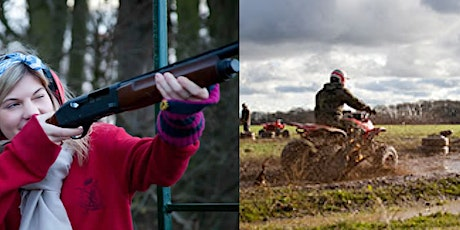 Let's Go Out Event - Quad Biking / Clay Pigeon Shooting & Buffet Lunch tickets