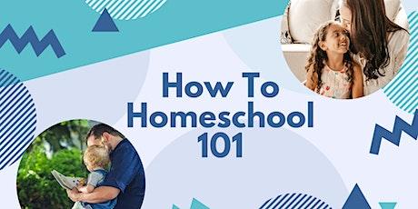 How to Homeschool 101 Workshop - 8/10/2020 tickets