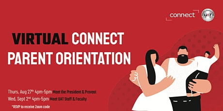 Virtual- Parent Orientation: Fall 2020 Meet the President & Provost tickets