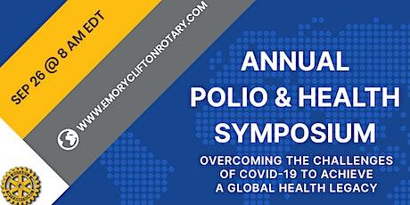 Annual Polio and Health Symposium tickets
