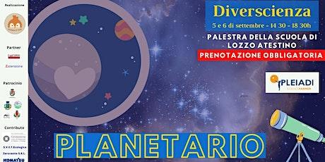 Planetario biglietti