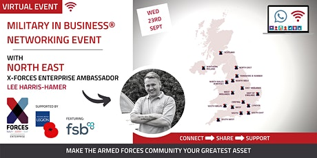 Military in Business Virtual Networking Event: Newcastle tickets