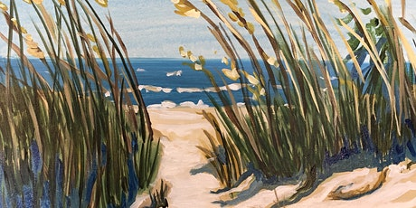 Sip and Paint Sea Oat Dune Painting! tickets