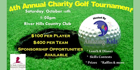 4th Annual Amazing Kidz Therapy Charity Golf Tournament tickets