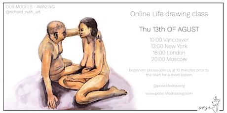 Posè - Life Drawing Class with @richard_ruth_art tickets