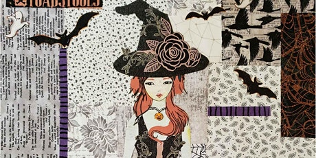 Teeny Tiny 'Dress' (Witch) Collage Class tickets