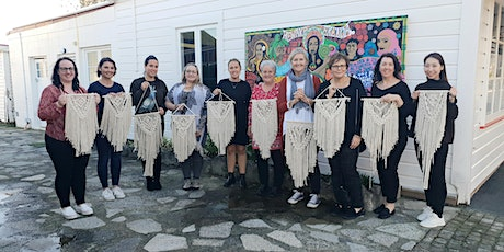 SOLD OUT- November Macrame Wall Hanging Workshop tickets