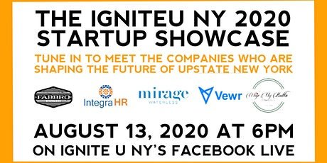 2020 IgniteU Startup Showcase tickets