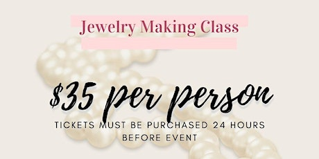 Simply Zeinah Jewelry Making Class tickets