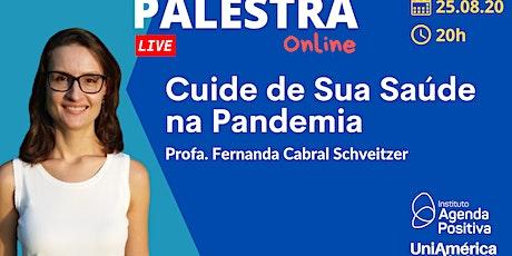 Palestra On-line - Cuide de sua saúde na Pandemia tickets