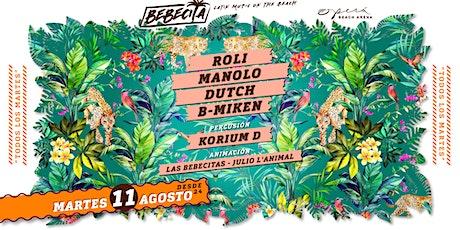 Bebecita Latin Music /Martedi 11 Agosto /Opera Beach biglietti
