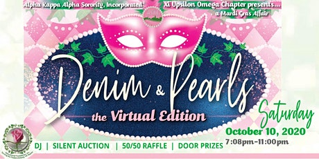Denim and Pearls Virtual Fundraising Party & Silent Auction tickets