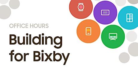 Bixby Developer Office Hours: October tickets