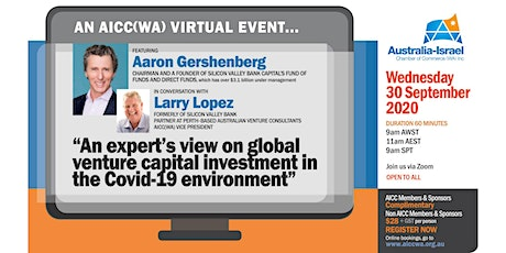 AICC(WA) Virtual Event Special - Live from Silicon Valley tickets
