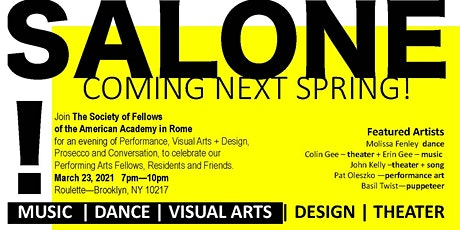 SALONE! tickets