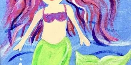 Magical Mermaid Painting Party Session 2 tickets