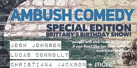 Ambush Comedy's Special Edition Rooftop Birthday Show! tickets