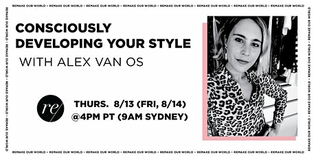 Consciously Developing Your Style tickets