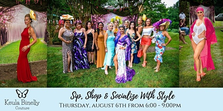 KBC Sip, Shop & Socialize with style tickets