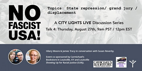 No Fascist USA! Talk #4 - Hilary Moore, James Tracy, and Susan Reverby tickets