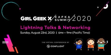 VIRTUAL Confluent Girl Geek Dinner - Lightning Talks & Networking! tickets
