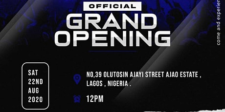 MOMENT ON DISC GRAND OPENING tickets