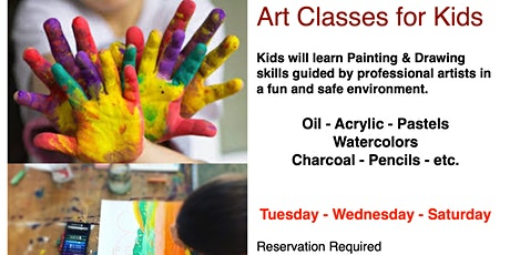 Art Classes, Painting & Drawing tickets