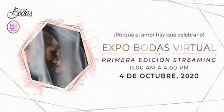 EXPOBODAS VIRTUAL 2020 tickets