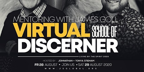 Mentoring with James Goll : Virtual  School of the Discerner tickets