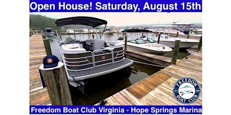 Freedom Boat Club - Stafford, VA - Open House! tickets