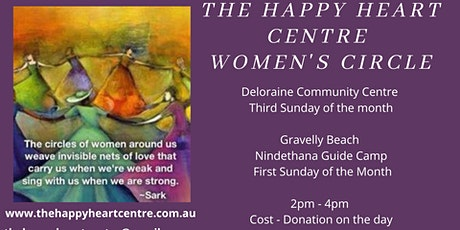 The Happy Heart Centre Women's Circle - Gravelly Beach tickets
