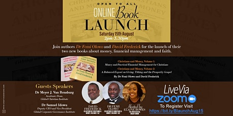 Online Book Launch of Christians & Money Vol 1 & 2 tickets