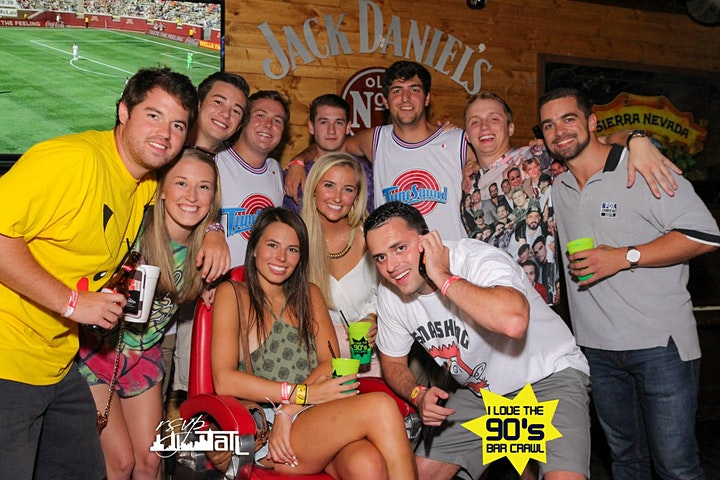 I Love the 90's Bash Bar Crawl - Madison image