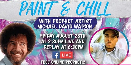 Paint & Chill - Prophetic Art Live Online tickets