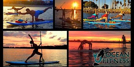 Sunset Paddleboard Yoga & Fitness Class! tickets