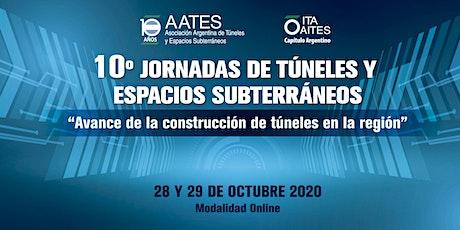 10° JORNADAS DE TÚNELES Y ESPACIOS SUBTERRÁNEOS entradas