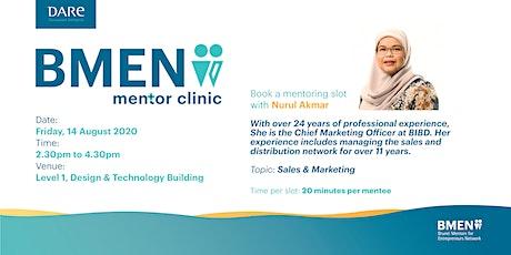 BMEN Mentor Clinic with Nurul Akmar tickets