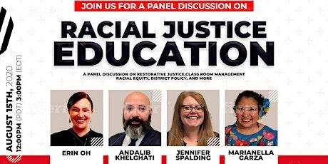 Racial Justice Education tickets
