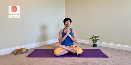19th Weekend (Sat 8/8) Home Zoom Classes - with Rita Madou, Samagra Yoga tickets