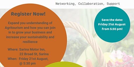 Sarina AgriTourism Networking Event tickets