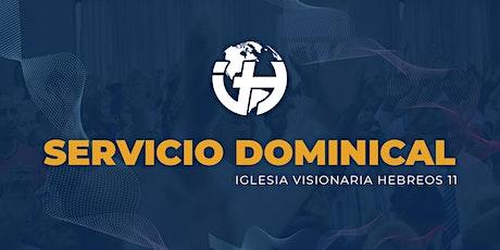 Servicio Dominical Hebreos 11 entradas