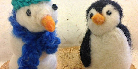 Felted Ornaments-Sunday, Dec 13, 3-5pm tickets