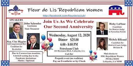 Fleur de Lis Republican Women  August  Meeting tickets